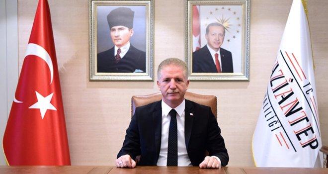 Vali  Gül'den 10 Kasım mesajı