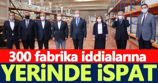 Vali Gül gazetecilerle birlikte yeni açılan fabrikaları gezdi