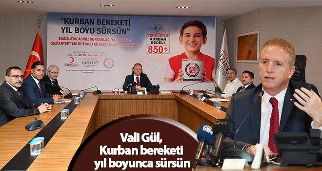 Vali Gül, Gaziantepli hayırseverlere çağrıda bulundu