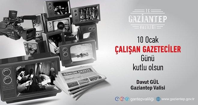 Vali Gül'den Gazeteciler Günü mesajı