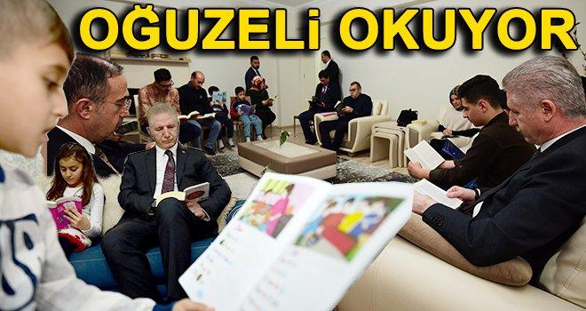 """Vali Gül'den """"Oğuzeli Okuyor"""" projesine destek"""