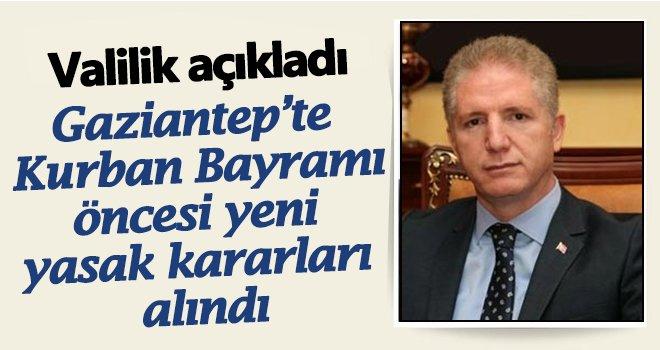 Vali'den flaş açıklama: Kurban Bayramı'nda yasak!