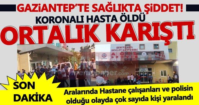 Koronadan öldü yakınlarından 100 kişi hastaneyi bası: 3 tutuklama