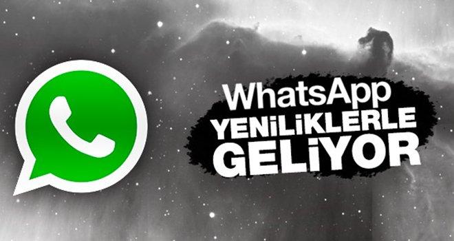 WhatsApp'a 3 yeni özellik birden!