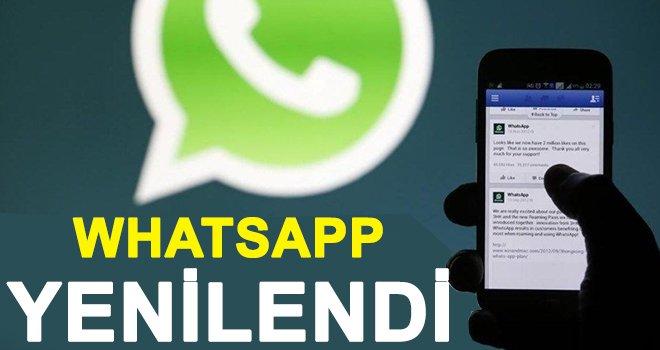 WhatsApp'a bomba özellik! Sil baştan