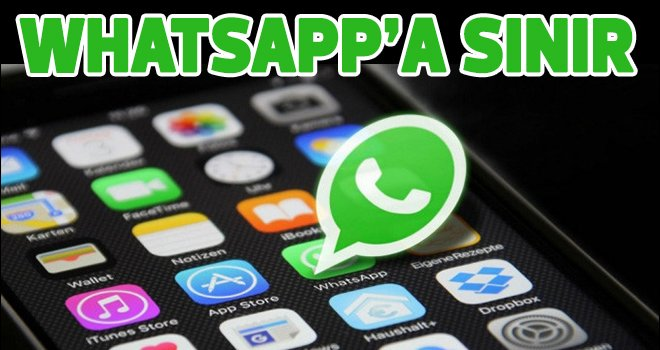 WhatsApp'a iPhone'larda sınırlama