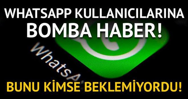 WhatsApp'tan yeni bir geliştirme geldi