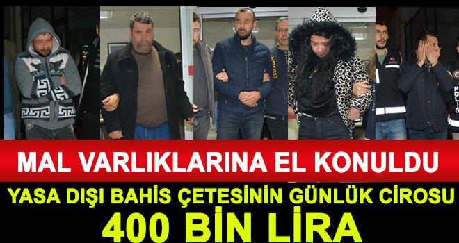 Yasa dışı bahis operasyonu: 107 gözaltı
