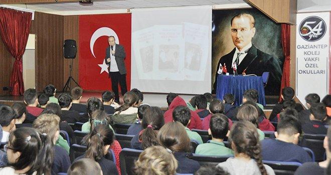 Yazar Süleyman Bulut GKV'lilere Atatürk'ü anlattı