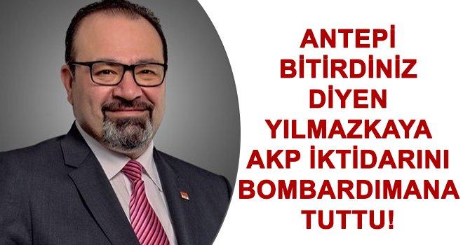 Yılmazkaya, AKP İktidarını sert sözlerle eleştirdi