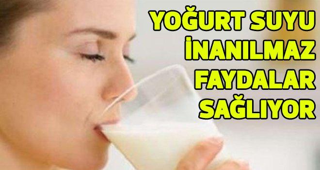 Yoğurt suyunun mucizevi faydaları