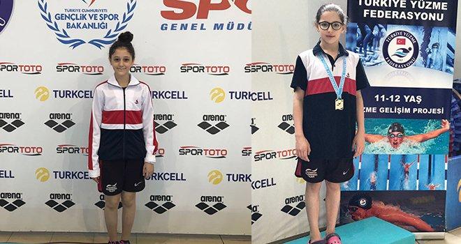 Yüzmede Türkiye başarısı Sanko okullarından