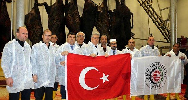 Zeytin Dalı Harekat'ına Mehmetçikler için kurbanlar kesildi